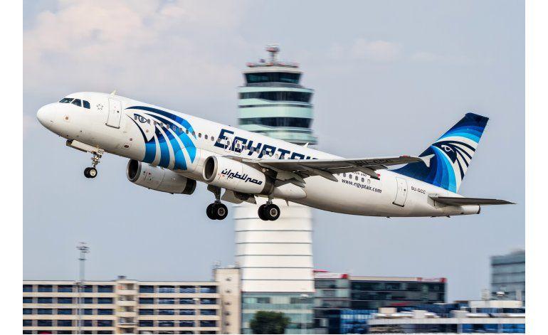 Hallan segunda caja negra del avión de EgyptAir estrellado