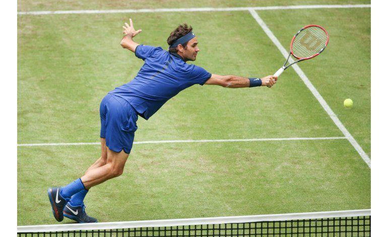 Federer avanza a las semifinales del torneo de Halle