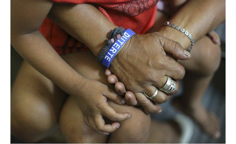 Ofensiva antidelincuencia en Filipinas golpea a los pobres