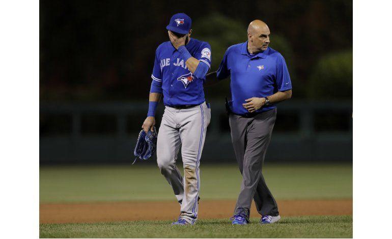 Azulejos colocan a José Bautista en lista de lesionados