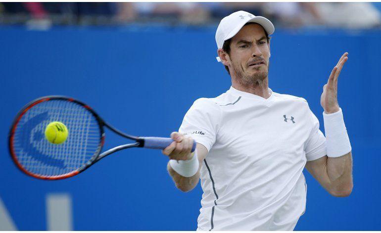 Murray avanza a semifinales en Queens