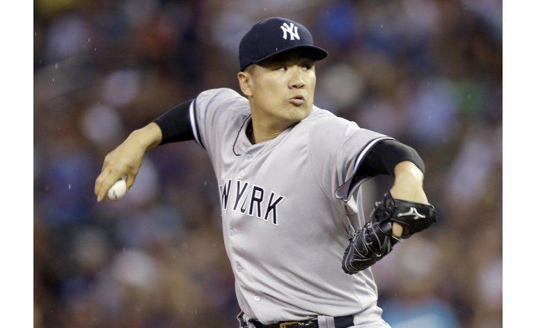 Tanaka lanza 8 innings, Yanquis ganan a Mellizos 8-2