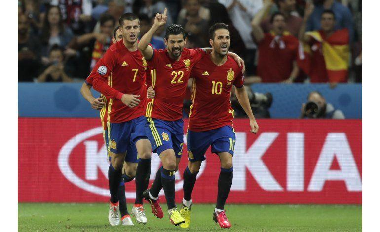 Euro: Artilleros españoles recuperan la puntería