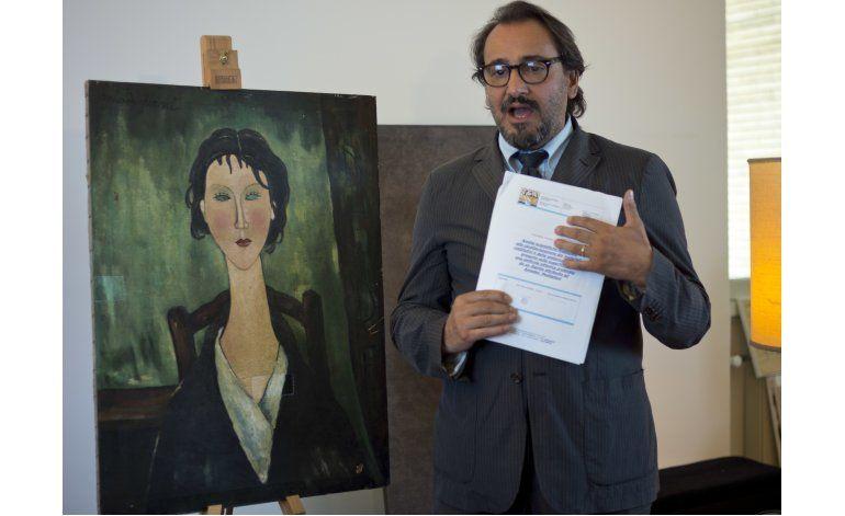 Aseguran sin pruebas que cuadro de Modigliani es auténtico