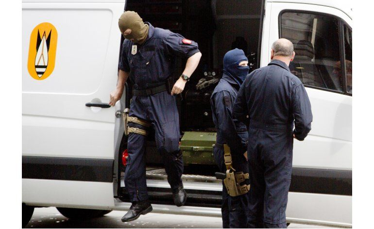 Bélgica lanza amplia operación antiterrorista: 12 detenidos