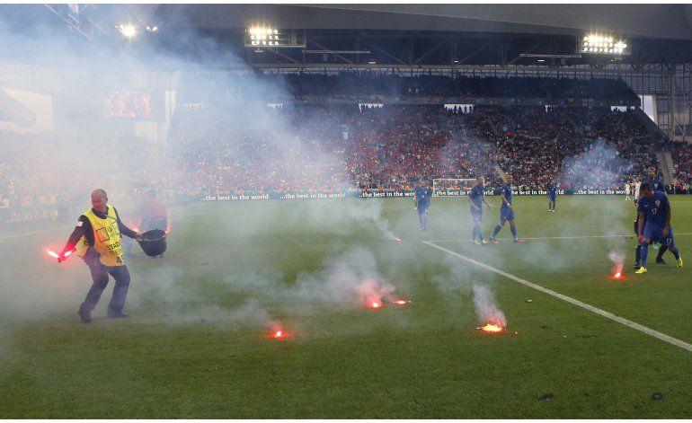 La UEFA abre expediente disciplinario a Croacia