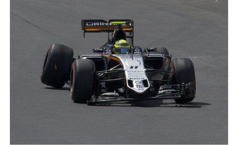 Rosberg gana pole para GP de Europa; Pérez, penalizado