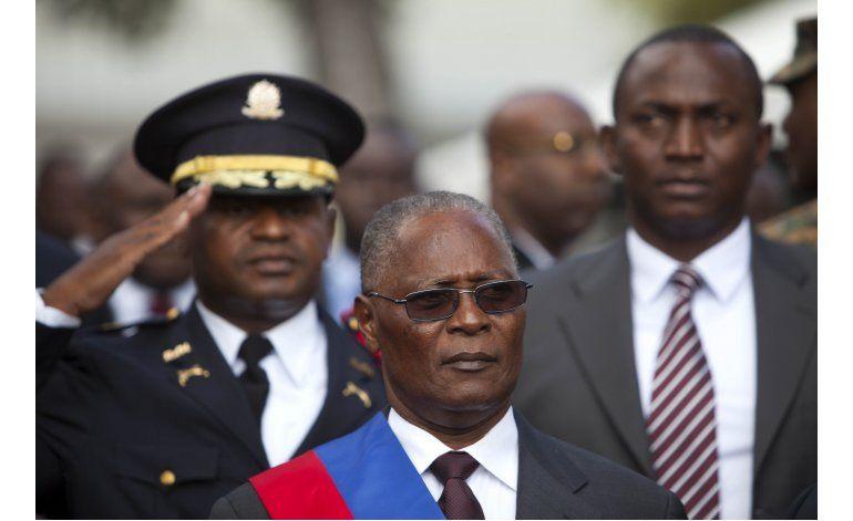 Votan sobre presidente interino de Haití la semana próxima