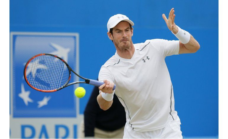 Murray, cerca de su 5to título en el Queens