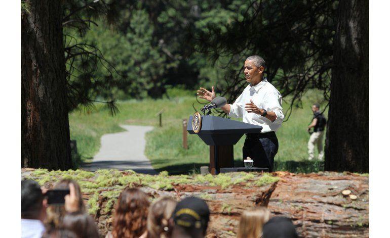 Obama: Cambio climático ya daña los parques nacionales