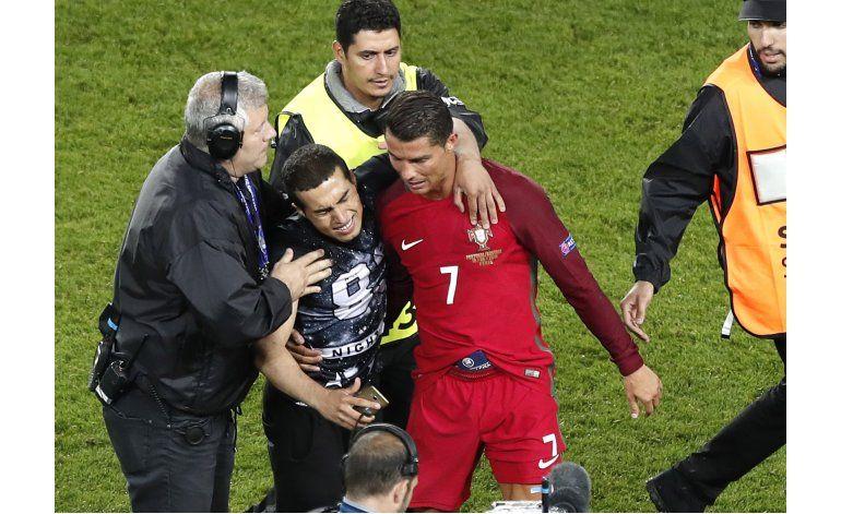 Otra noche frustrante para Cristiano y Portugal