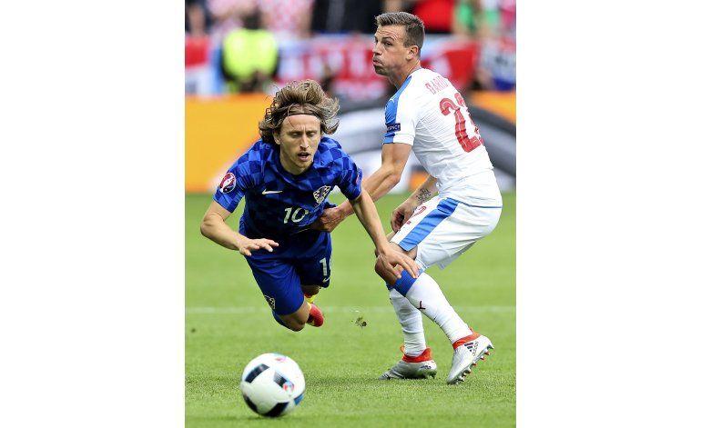 Modric, casi descartado para el Croacia-España