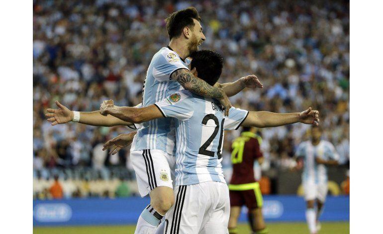 Listas las semis de Copa: Argentina-EEUU y Colombia-Chile