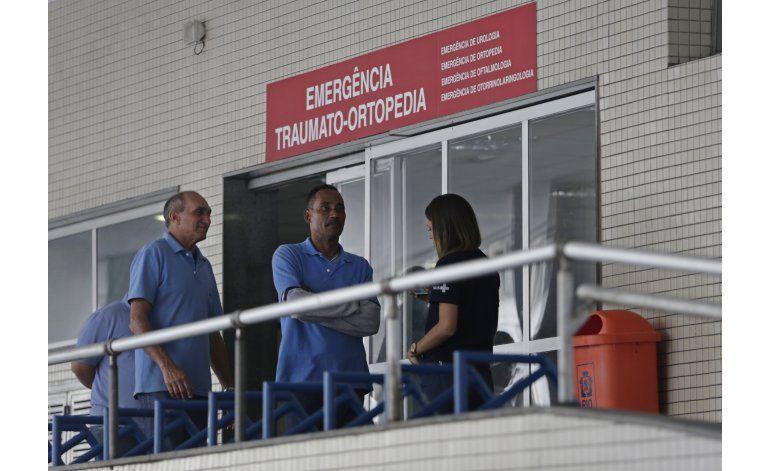 Brasil: Atacan hospital recomendado para Olimpiadas