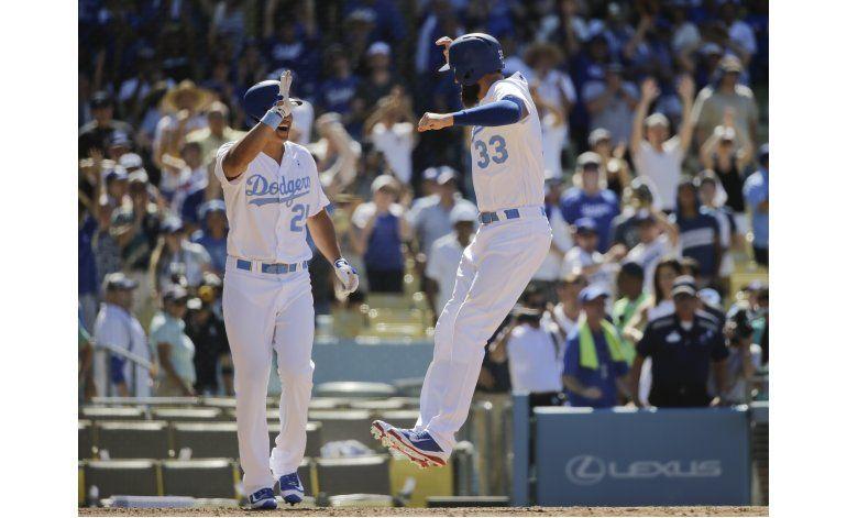 Grandal gestiona boleto que da triunfo a los Dodgers