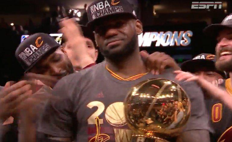 LeBron e Irving dan a Cleveland el ansiado título