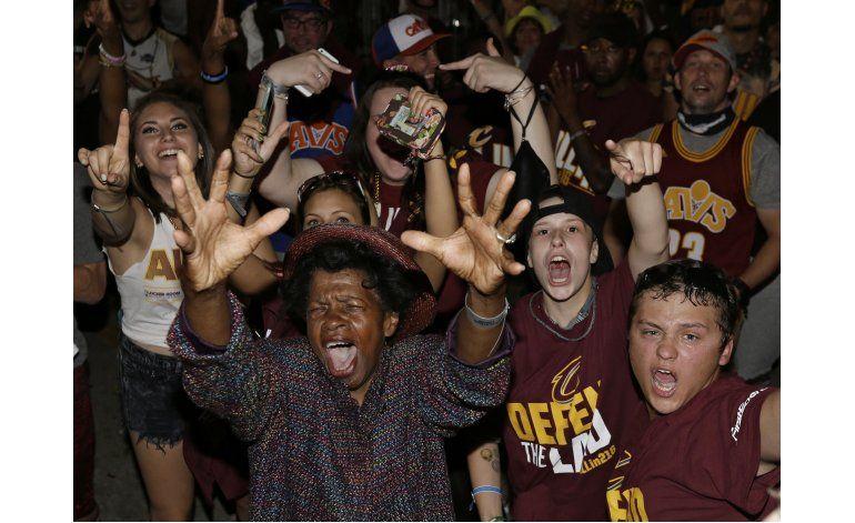 Cleveland vuelve a llorar, pero de alegría