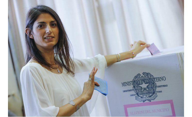 Partido de comediante gana Roma y otras alcaldías de Italia