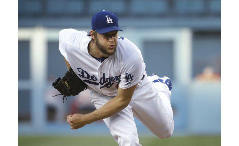 Clayton Kershaw vuelve a dominar, Dodgers ganan a Nacionales