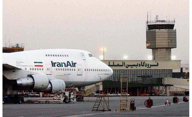 Boeing dice que ha firmado un acuerdo de venta con Iran Air