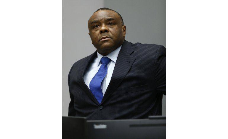 CPI sentencia a ex vicepresidente del Congo