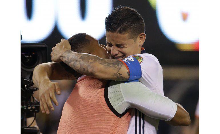 Centenario: La Colombia de James contra un Chile sin Vidal