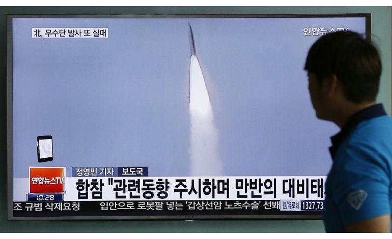 Corea del Sur: Norcorea lanzó dos misiles