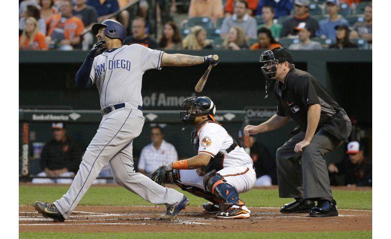 Kemp logra 4 hits y Padres doblegan a Orioles