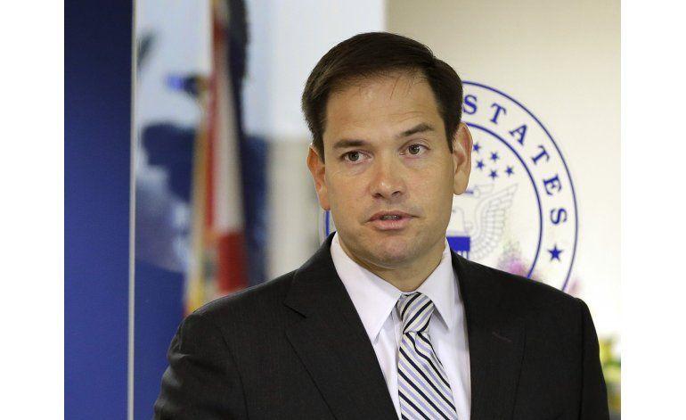 Marco Rubio busca reelección al Senado