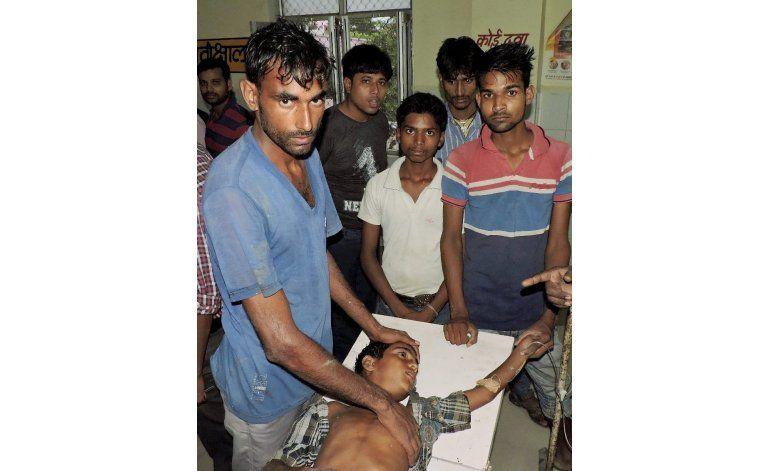 Mueren al menos 74 personas en India por impacto de rayos