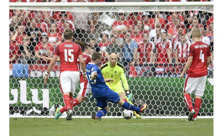 Islandia se mete en octavos de Euro y jugará con Inglaterra