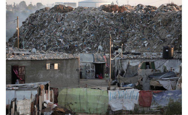 Crecimiento de barrio pobre en Gaza es poco alentador