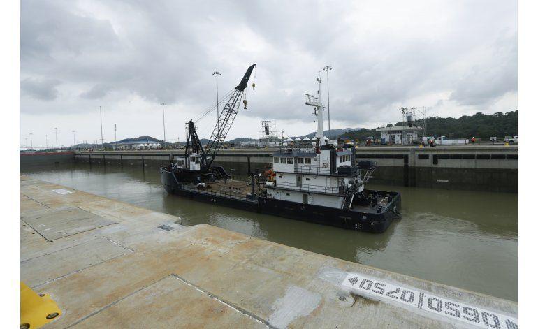 Ampliación del Canal panameño encara bajón del comercio