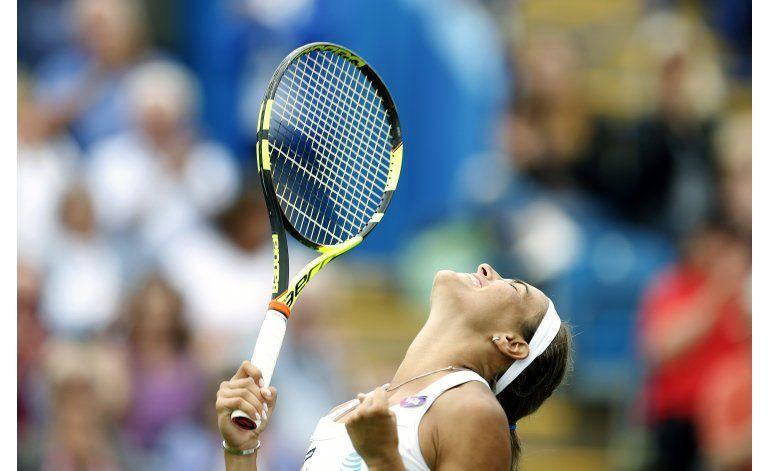 Puig elimina a Wozniacki en torneo de Eastbourne