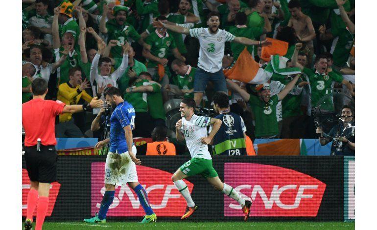 Irlanda vence a Italia y pasa a la segunda ronda por 1ra vez