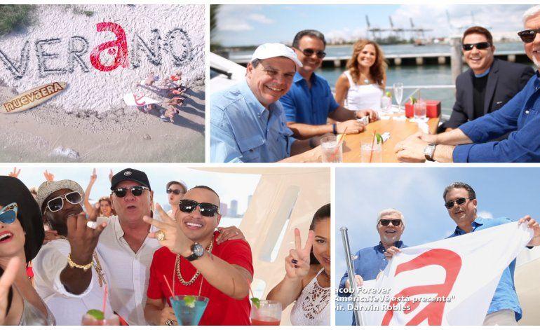 América TeVé en su nueva era lanza campaña de verano con el reconocido cantante cubano Jacob Forever