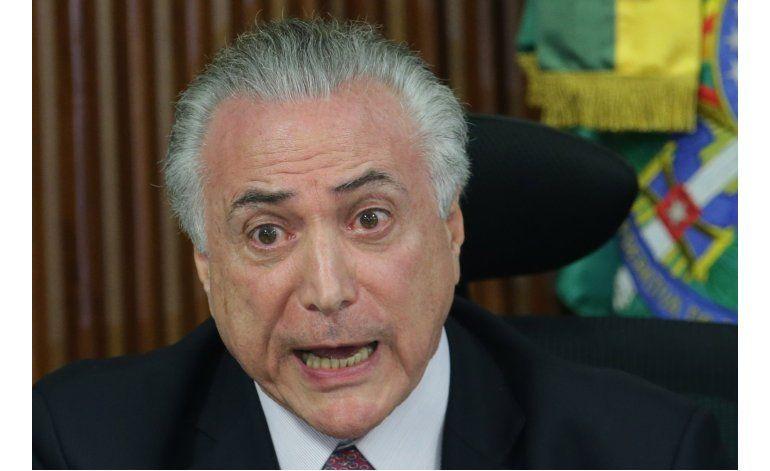Temer no quiere estar en inauguración olímpica con Rousseff