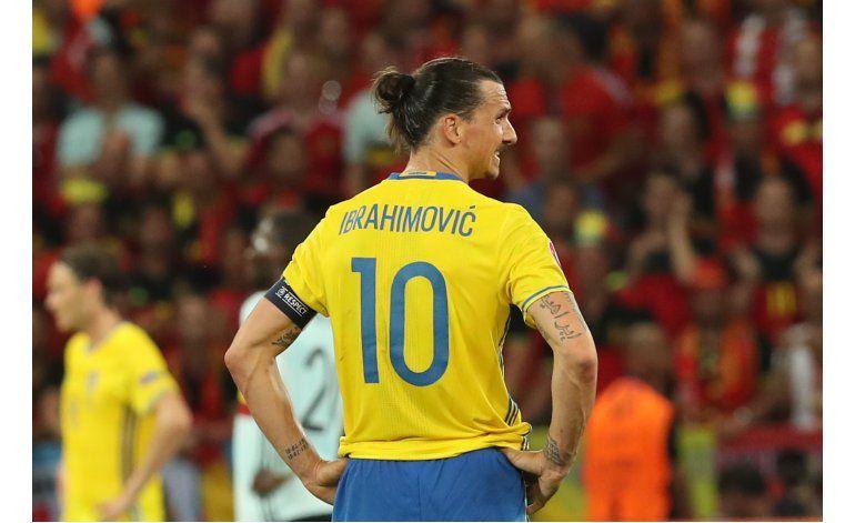 Bélgica derrota a Suecia y jubila a Ibrahimovic