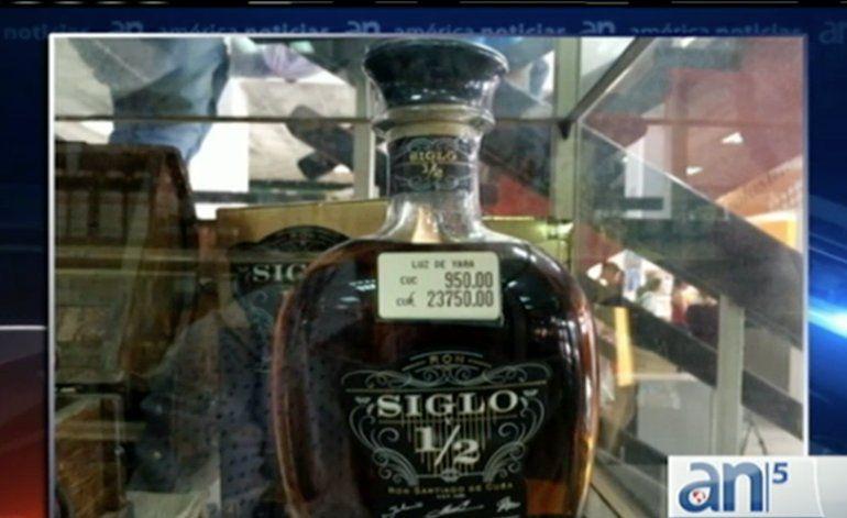 Cuba al Día: se vende en Cuba una botella de ron a 950 CUC