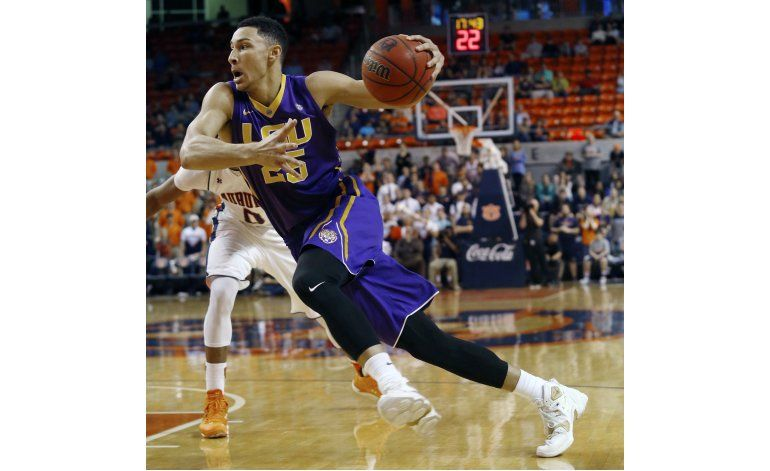 Simmons espera ser 1ra selección del draft de la NBA