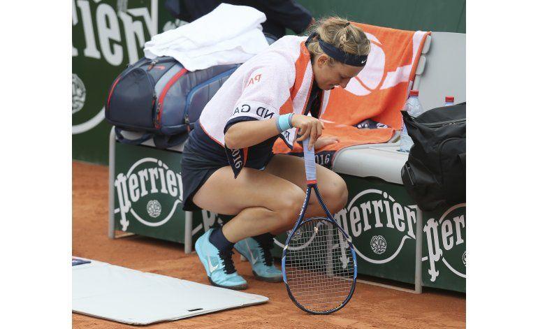 Victoria Azarenka se descarta de Wimbledon por lesión
