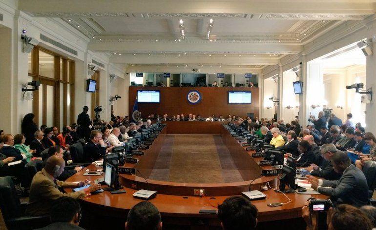 Gobierno de Maduro es derrotado en la OEA
