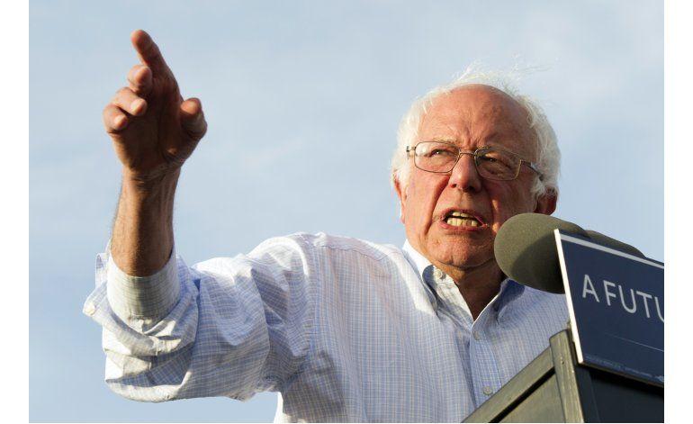 Sanders dice que su revolución apenas comienza