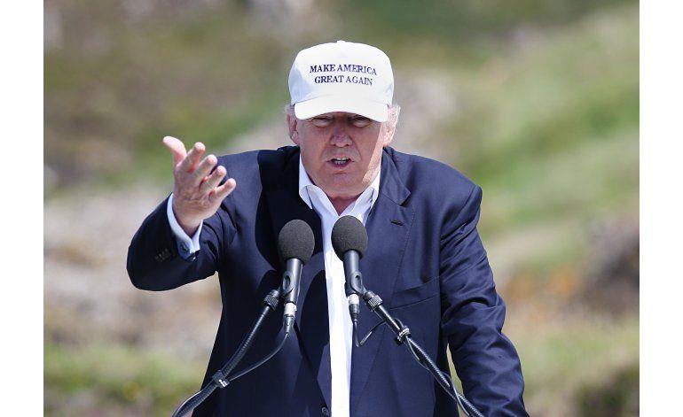 Trump alaba resultado de referéndum británico