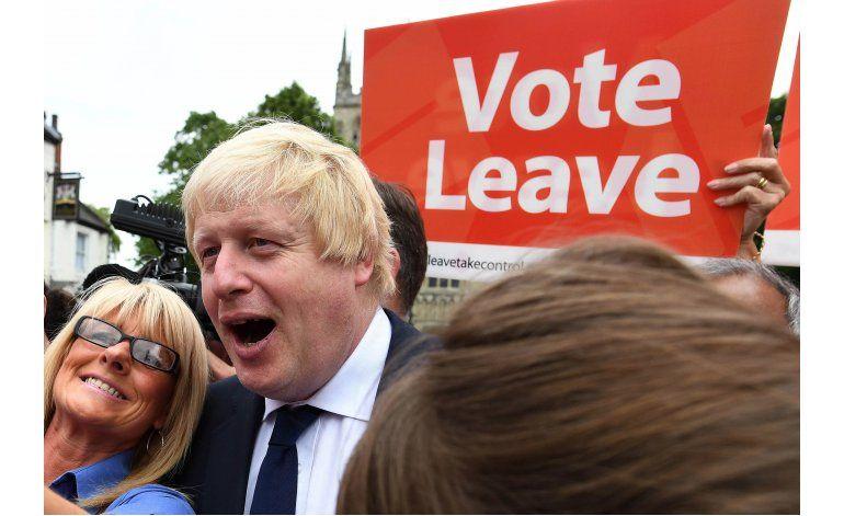 Boris Johnson surgió como ganador del referéndum británico