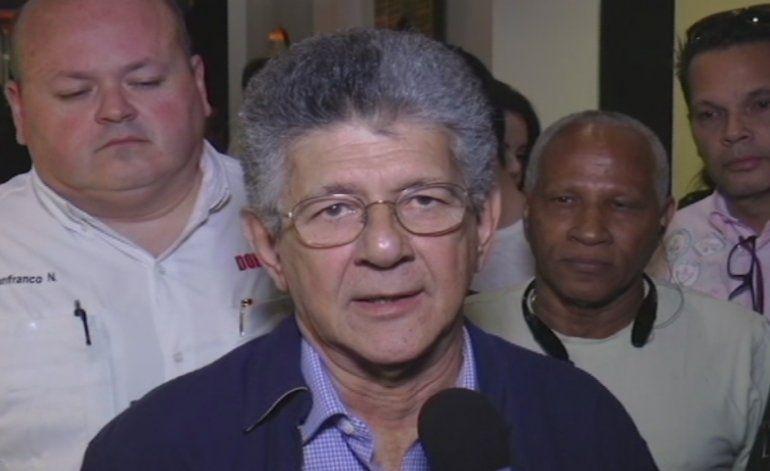 Presidente de la Asamblea Nacional de Venezuela, Henry Ramos Allup, está de visita en Miami