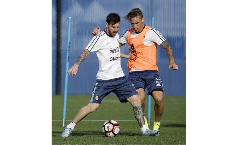 Messi: No siento presión, sólo deseos de ser campeón