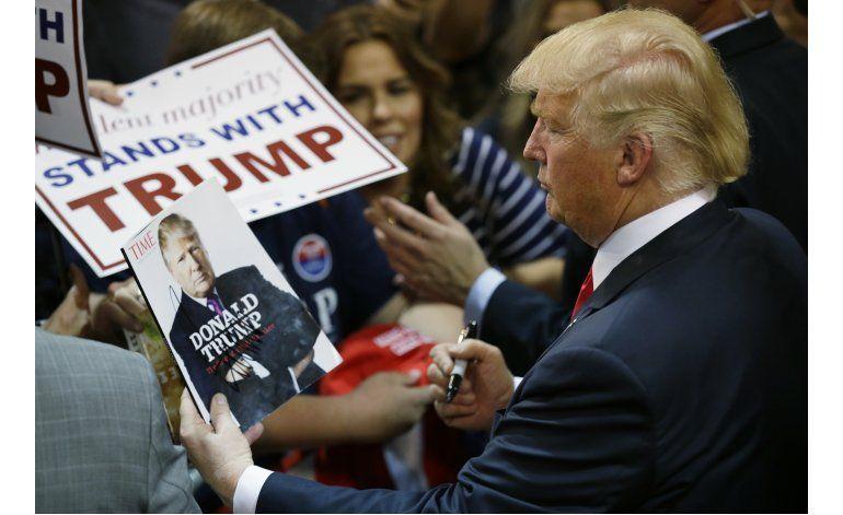 Delegado interpone demanda para no votar por Trump