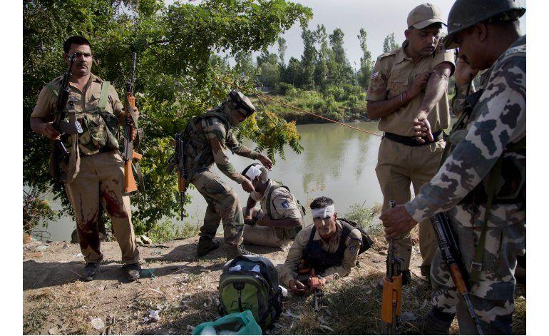 Rebeldes separatistas matan a 8 soldados indios en Cachemira
