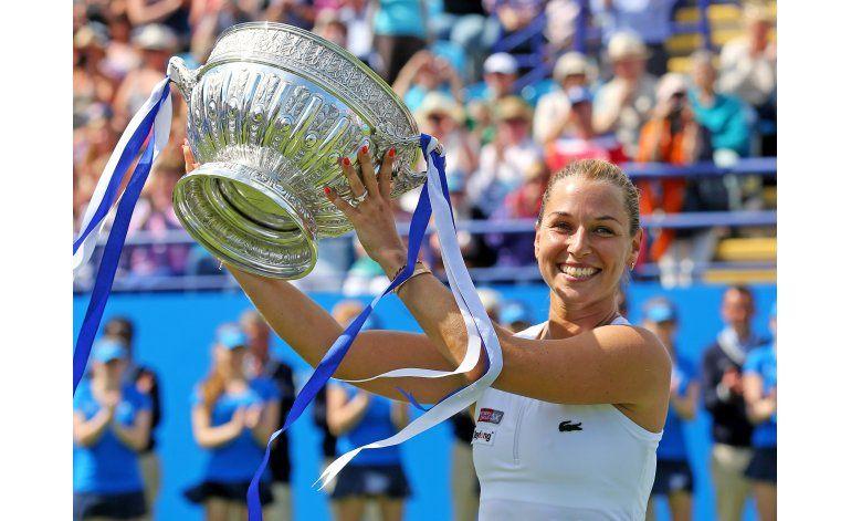 Cibulkova gana el título en Easbourne, su segundo del año